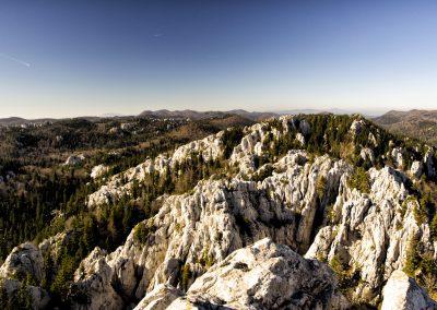 Bijele stijene, Gorski kotar