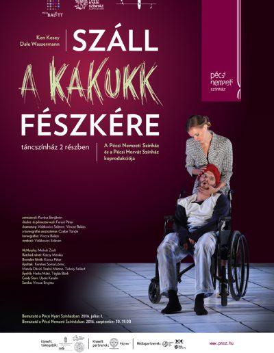 Pécsi Balett: Száll a kakukk fészkére, 2016.
