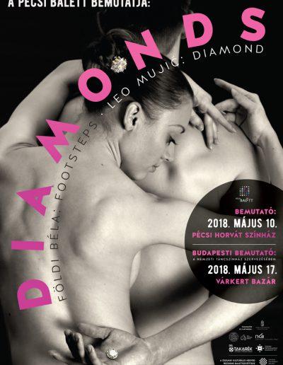 Pécsi Balett: Diamonds, 2018.