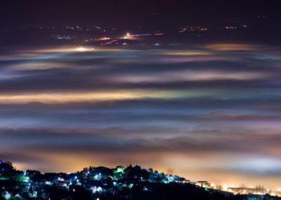 Köd Pécs felett