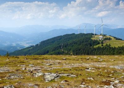 Kopár, szeles Fischbachi Alpok