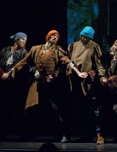 Hófehérke és a hét törpe, Pécsi Balett