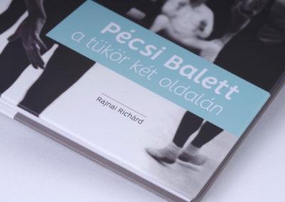 Pécsi Balett a tükör két oldalán // borító