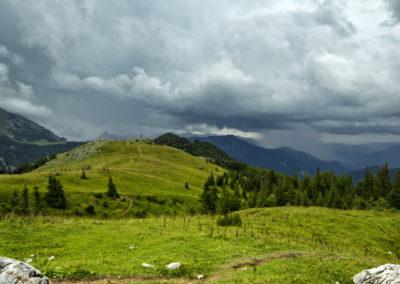 Vihar a Zelengora-hegység felől