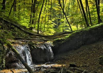 Ágnes-vízesés, Melegmányi-völgy, Petnyák-völgy, Mecsek