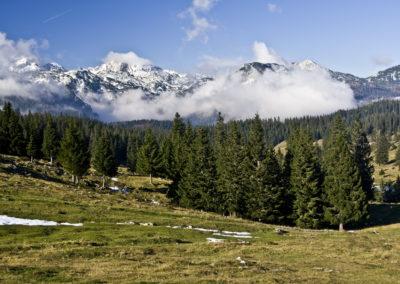 A Kamniki-Alpok csúcsai