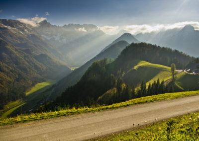 Logarska dolina a panorámaútról
