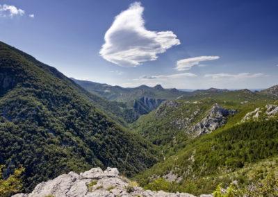 A Mala Paklenica völgy
