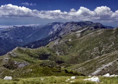 A Paklenica Nemzeti Park a Sveto brdo-ról