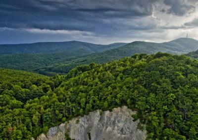 A Kapavac csúcsa a Krndija-hegységben