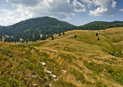 A Rajinac vadregényes vidéke