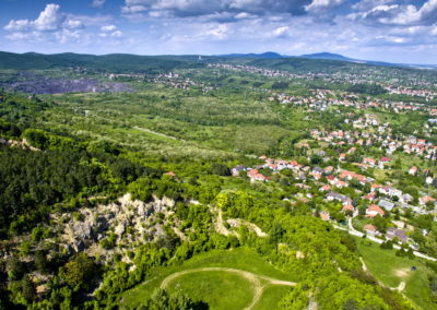 Pécs, Gyükés, drónfotó