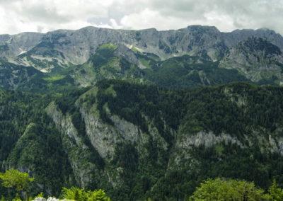 A Volujak gerince, Bosznia Herzegovina, Sutjeska National Park