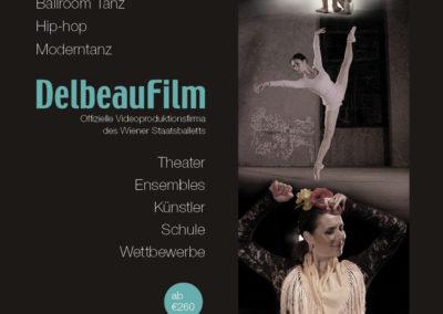 Sajtóhirdetés // Delbeaufilm