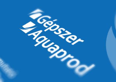 Gépszer-Aquaprod // logópár