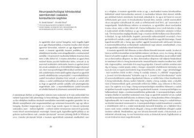 ILCO konferenciakötet // belső oldalpár