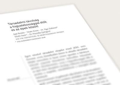 ILCO konferenciakötet // tipográfia