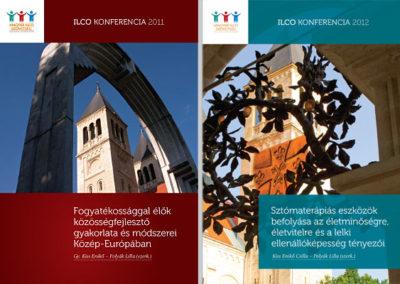 ILCO konferenciakötetek // borító