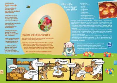 Kultúrka gyermekmagazin // oldalpár