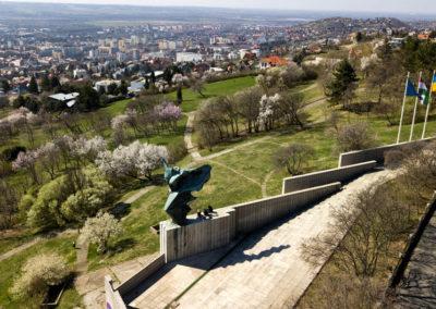 Niké szobor, Pécs
