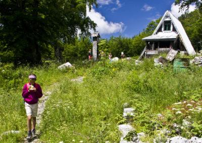 A Struge menedékház, National park Paklenica, Velebit, Croatia