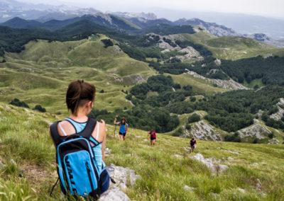 Pihenő a csúcs alatt, Sveto brdo, National park Paklenica, Velebit, Croatia
