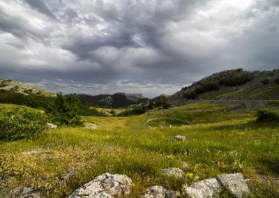 Mali Alan hágó, National park Paklenica, Velebit, Croatia