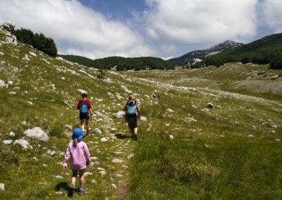Átbuktunk a Bulmja-hágón, irány a Badanj! National park Paklenica, Velebit, Croatia