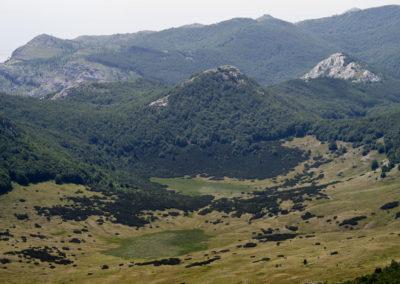 A Javornik-medence, National park Paklenica, Velebit, Croatia