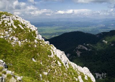 A Badanj északi oldala, National park Paklenica, Velebit, Croatia