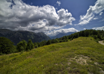 Az első látványos kilátópont, Zelengora, Bosznia-Hercegovina