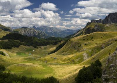 A Zelengora hágója közelében, Sutjeska National Park, Bosznia-Hercegovina