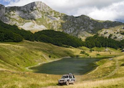 Az Orlovačko-tó, Zelengora, Sutjeska National Park, Bosznia-Hercegovina