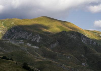 A Bregoč zöld csúcsa (2014 m), Zelengora, Sutjeska National Park, Bosznia-Hercegovina