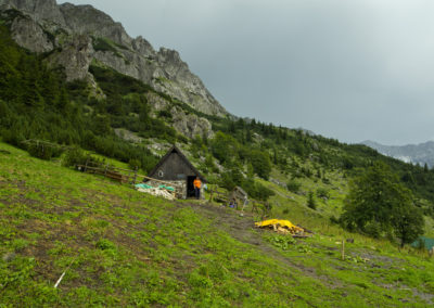 Búcsú vendéglátónktól, Maglic, Sutjeska National Park, Bosznia-Hercegovina