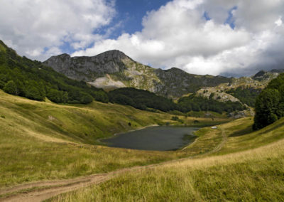 Orlovačko lake Zelengora, Sutjeska National Park, Bosznia-Hercegovina