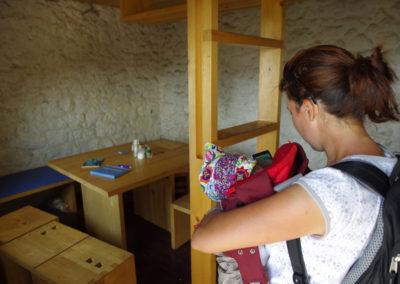 Rossiljeva koliba, berendezés, Sjeverni Velebit National Park