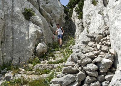 A Crkvena alatti lépcsősor, Sjeverni Velebit National Park