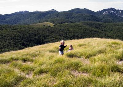 A kilátást mindenki élvezte, Sjeverni Velebit National Park