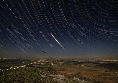Csillagív a Szársomlyóról