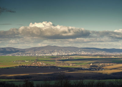 Pécs a Tenkes-hegyről