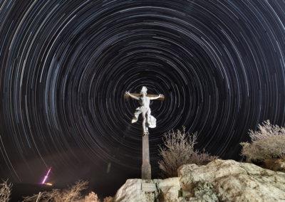 Feszület a pécsi Havi-hegyen