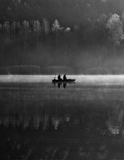 Novemberi horgászok - Herman Ottó-tó, 2018