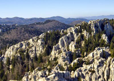 Bijele i Samarske stijene és a Gorski kotar