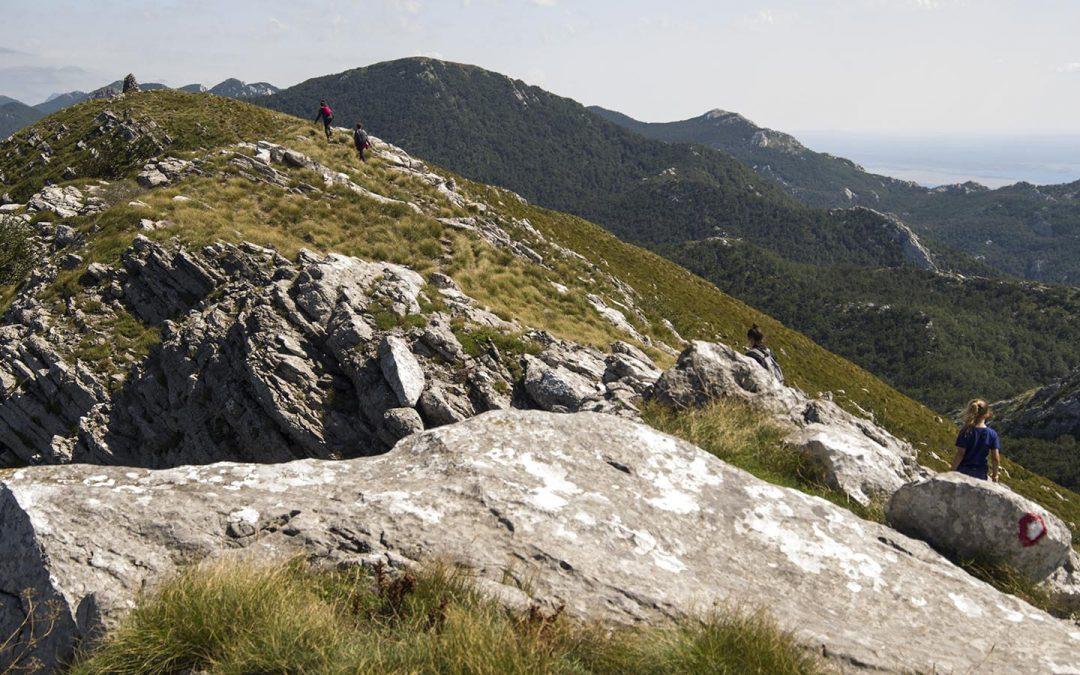 Közép-Velebiti körtúra Baške Oštarije-től délre